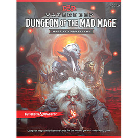 5E: Waterdeep: Dungeon of the Mad Mage Maps and Miscellany