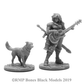Bones Black: Isobael the Bard and Rufus the Dog (44114)
