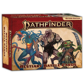 Pathfinder: 2E: Bestiary Battle Cards