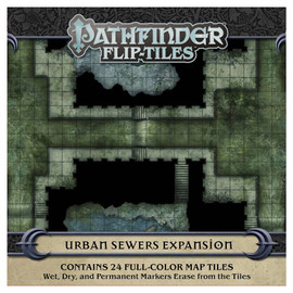 Pathfinder: Flip-Tiles: Urban Sewers Expansion