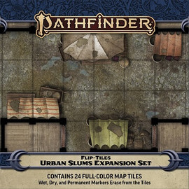 Pathfinder: Flip-Tiles: Urban Slums Expansion Set