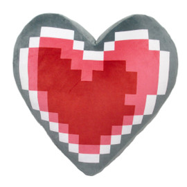 Legend of Zelda 14-inch Heart Container Plush Pillow Cushion