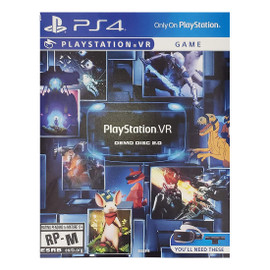 Pre-Owned: PS4: PlayStation VR Demo Disc 2.0