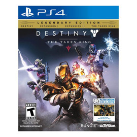 Pre-Owned: PS4: Destiny: The Taken King - Legendary Edition