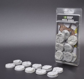 Gamers Grass: Resin Bases: Rocky Fields: 32mm (10 bases)