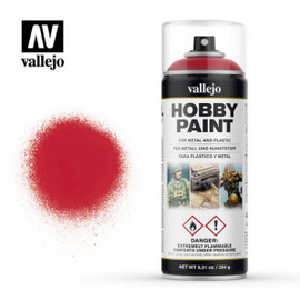Vallejo Spray Hobby Paint: Bloody Red