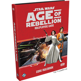 Star Wars RPG: Age of Rebellion Core Rulebook