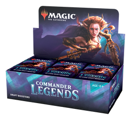 Magic the Gathering: Commander Legends Draft Booster Display Box