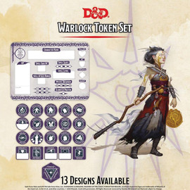 Dungeons and Dragons: Warlock Token Set