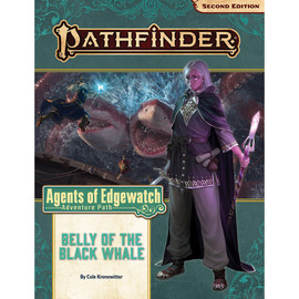 Pathfinder 2nd Ed. RPG: Adventure Path: Agents of Edgewater Part 5: Belly of the Black Whale