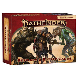 Pathfinder 2nd Edition: Bestiary 2: Battle Cards