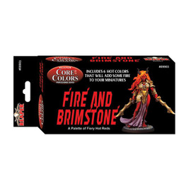 Fast Pallet Paint Set: Fire and Brimstone - Hot Reds (6 Colors)