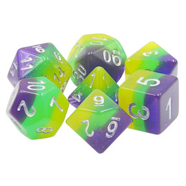 Polyhedral Dice Set: To Infinity... (7 dice)