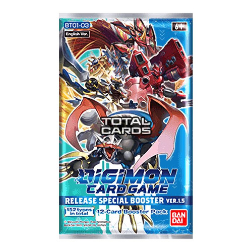 Digimon TCG: Release Special Booster v1.5 Booster Pack