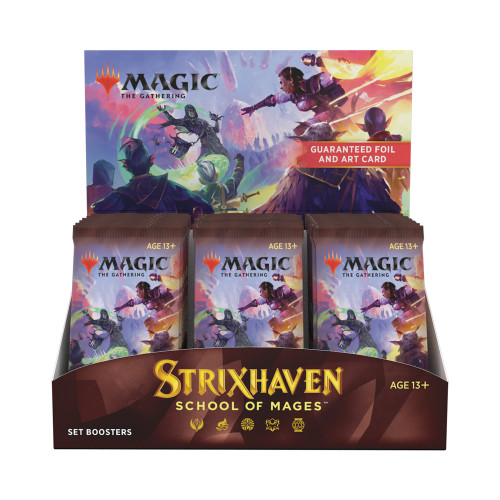 Magic: Booster Display: Strixhaven: Set Boosters | 30 Packs (360 Magic Cards)