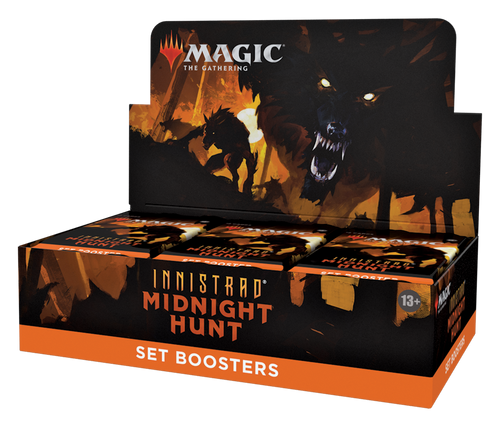 Magic: Booster Display: Innistrad: Midnight Hunt: Set Boosters | 30 Packs (360 Magic Cards)