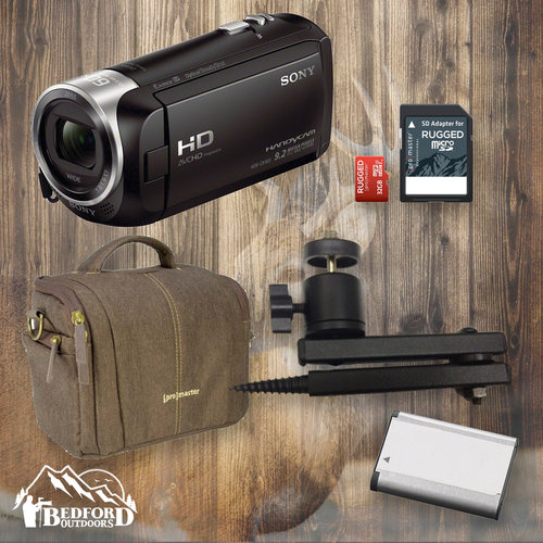 The Basics - Sony HDR-CX405 Outdoor Package