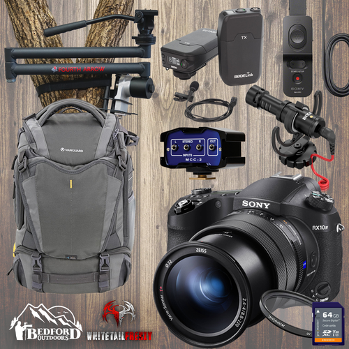 Sony RX10 Mark IV Whitetail Frenzy Pro Package