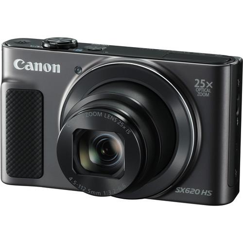 Canon PowerShot SX620 HS Digital Camera (Black)