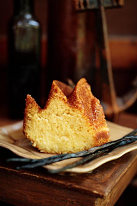 VANILLA RUM CAKE