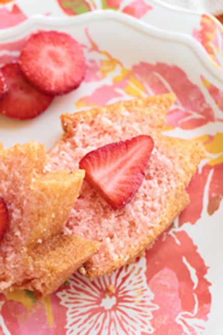 Strawberry Rum Cake