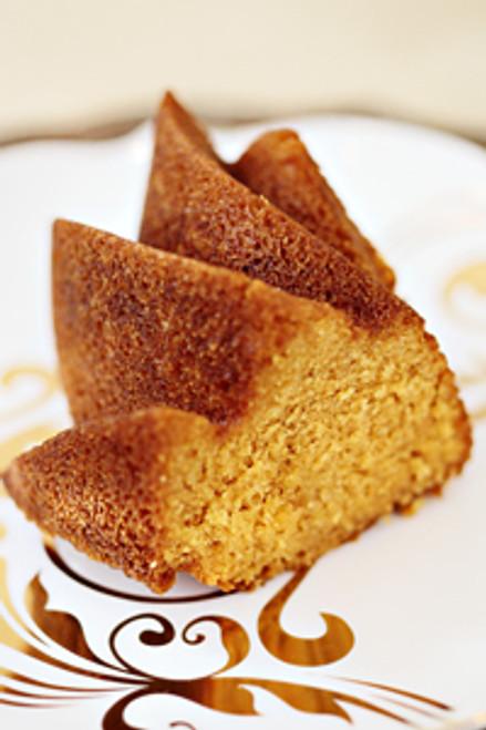 Pumpkin Spice Bum's Rum Cake