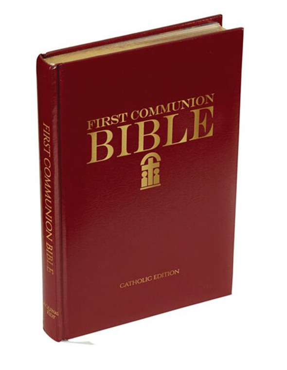 First Communion Bible Children Bible 6x9 Catholic Illustrated Book