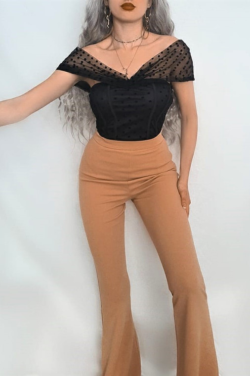 Nude Fit Flared Trousers