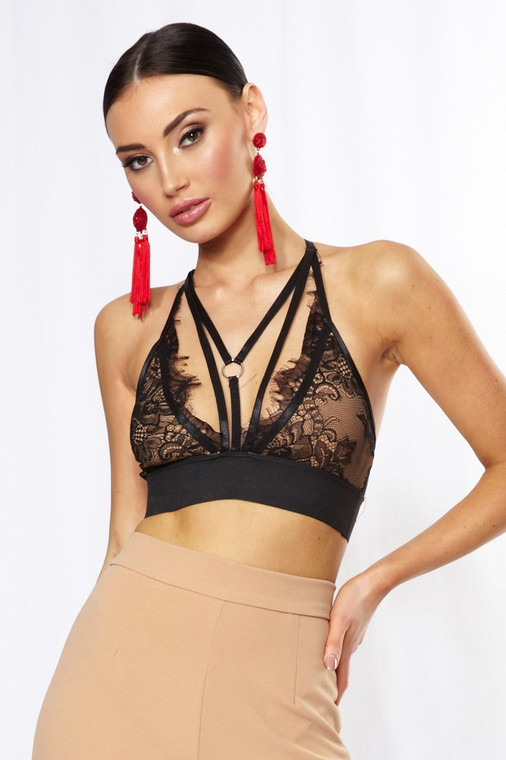 Lace Harness Bralet