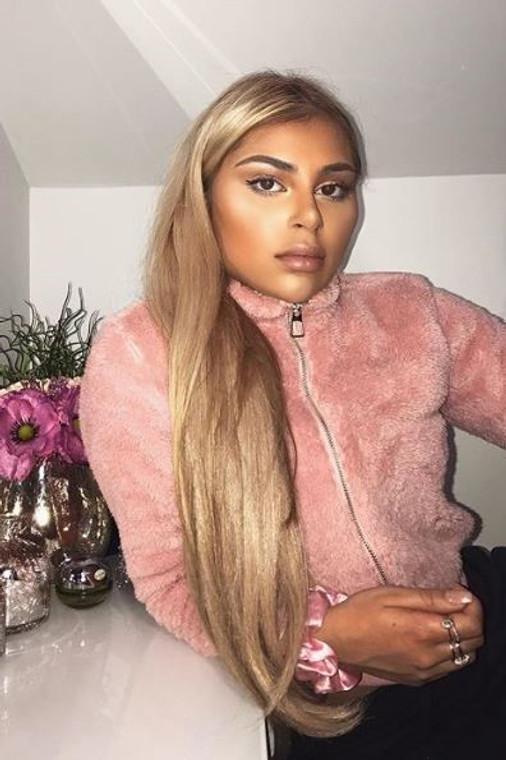 Pink Teddy Zip Jacket