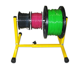 The Reel Stand - Holds a 1,000 foot reel of 10/2 or three reels of THHN wire that are five inches wide