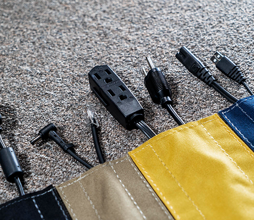 SAFCORD® - Cover cables on carpet and lock cords in place!