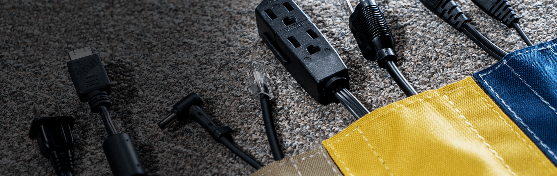 Cover cables on carpet and prevent trips and falls with SAFCORD®.