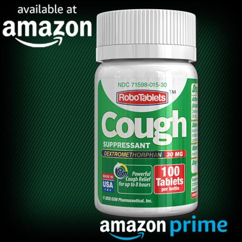 RoboTablets dxm dextromethorphan cough delsym coughgel robitussin robafen assured valuemeds