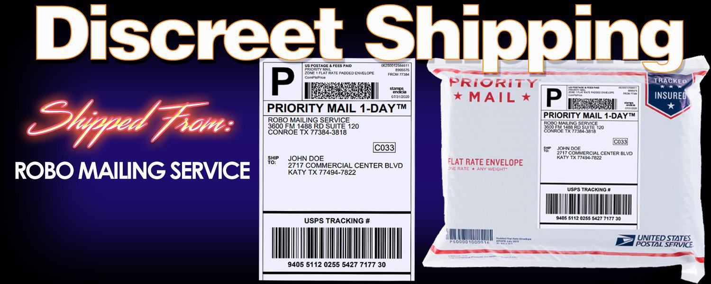 RoboCough discreet shipping