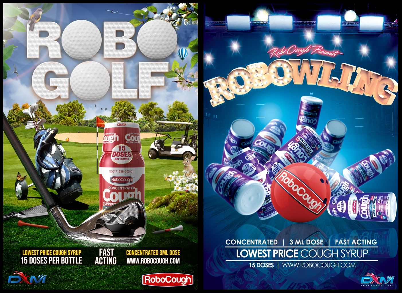 Robocough Robo cough is a product marketed as a powerful cough suppressant. robocough