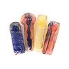 """Hand Eeze 3.5"""" Fumed Square Pipe Assortment UNS Wholesale Smoke Shop Distributor Head Shop Novelty Supplies Hand Eeze Glass hand pipe"""