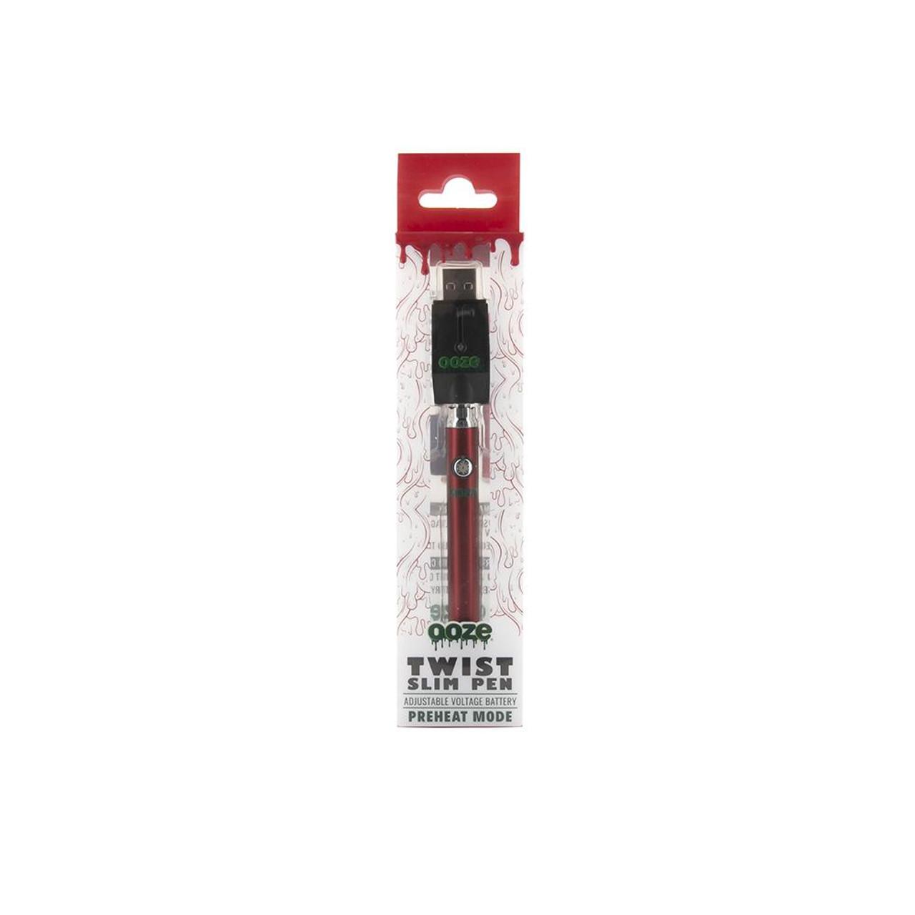 Ooze Slim Pen Twist Battery w/USB Charger cheap vaporizer vape pen Vaporizer wholesale wholesale vape UNS Wholesale Smoke Shop Distributor Head Shop Novelty Supplies Wholesale