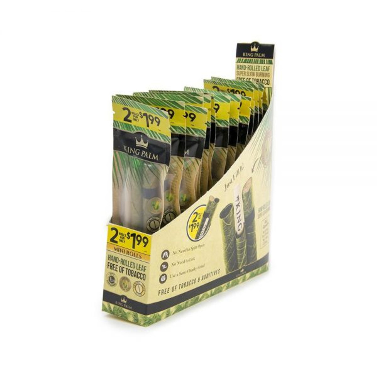 King Palm Mini 2pk - Pre-Price 1.99 - Display of 20