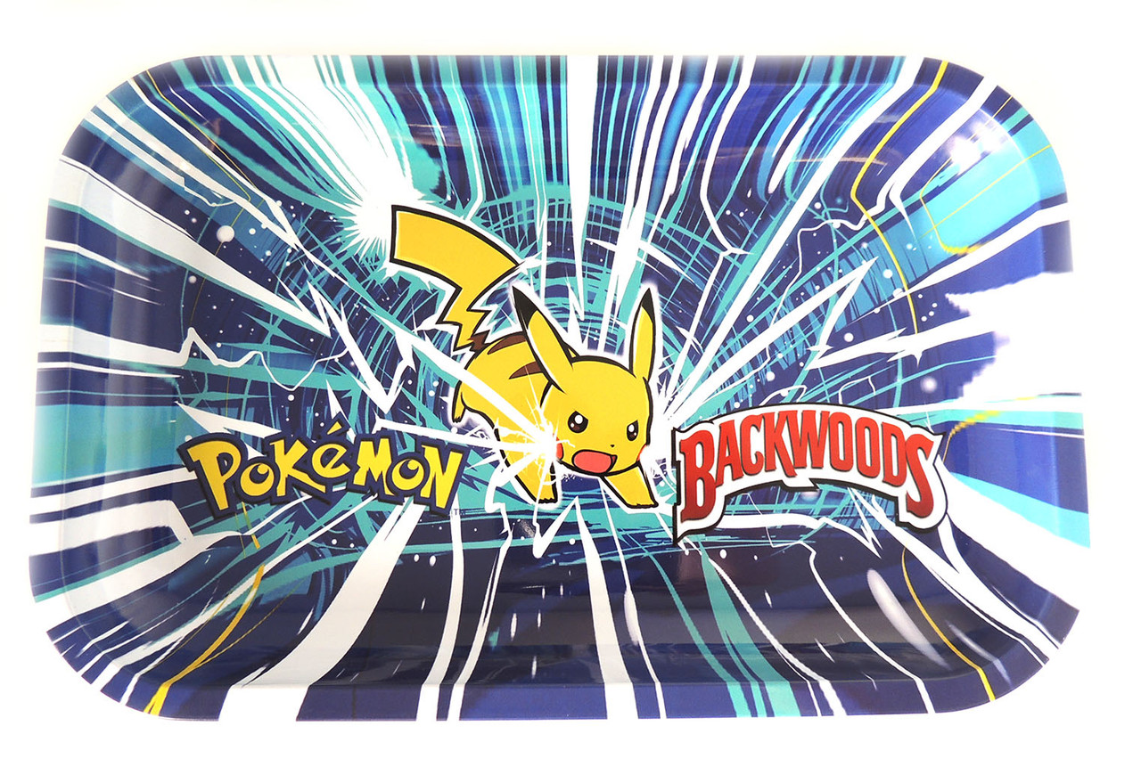 Backwoods Rolling Tray - Pikachu