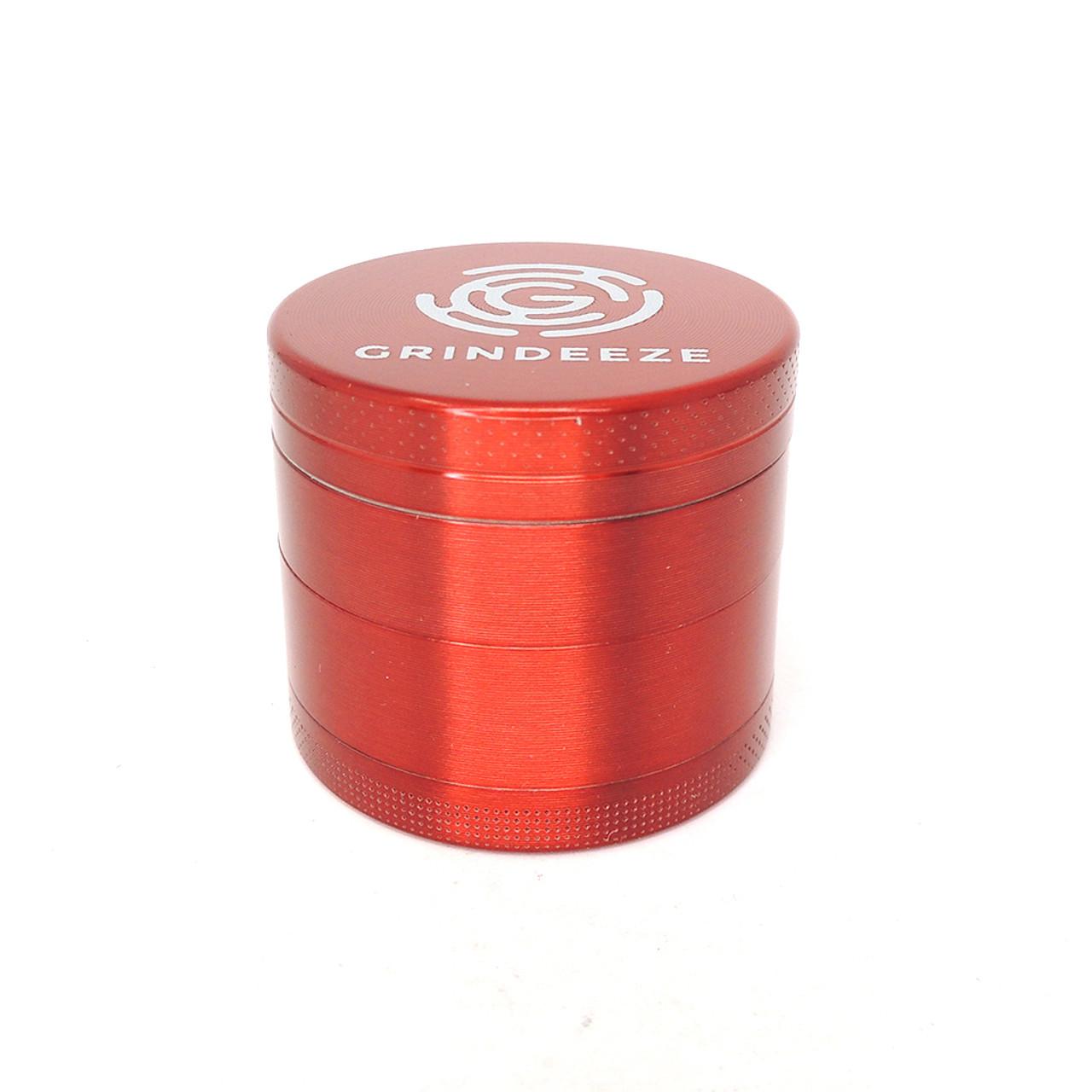 Grind Eeze 4 Part Zinc Grinder - Assorted Colors/Sizes