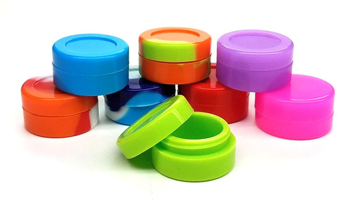 Assorted Silicone Containers 7ml