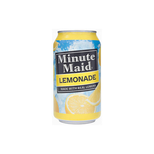 Minute Maid Lemonade Can Safe