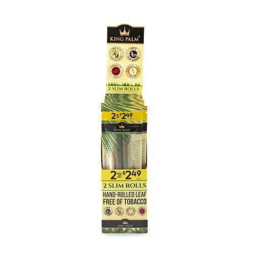 King Palm Slim 2pk - Pre-Price 2.49 - Display of 20