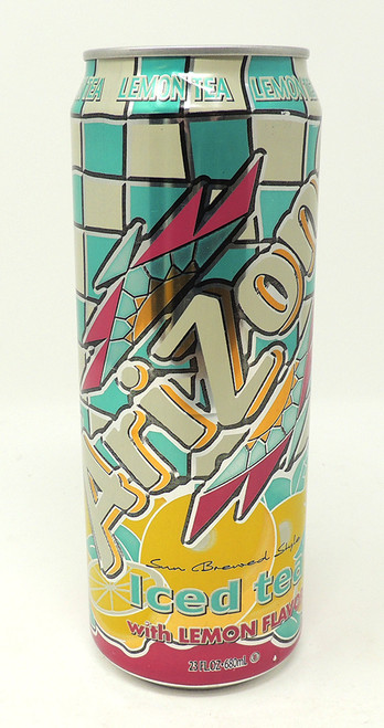 Arizona Tea Can Safe - Lemon