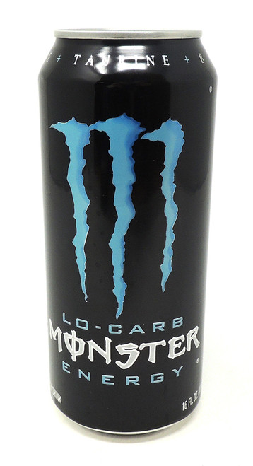 Monster Blue Can Safe