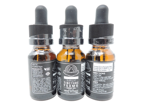 Illuminati Full Spectrum CBD Tincture (750mg, 1500mg, 3000mg)