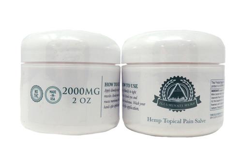 Illuminati CBD Salve - 2000mg (2 ounce)