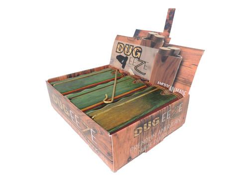 Rasta Dug Eeze Premium Dugout - Twist Top w/ Poker