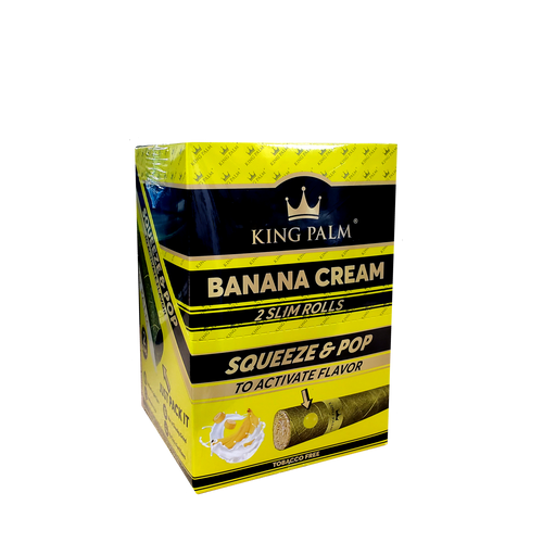 King Palm Slim Size - Banana Cream - 20ct.